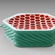 "Impresiones 3D gratis Jabonera de drenaje ""Wavy"", Vincent6m"