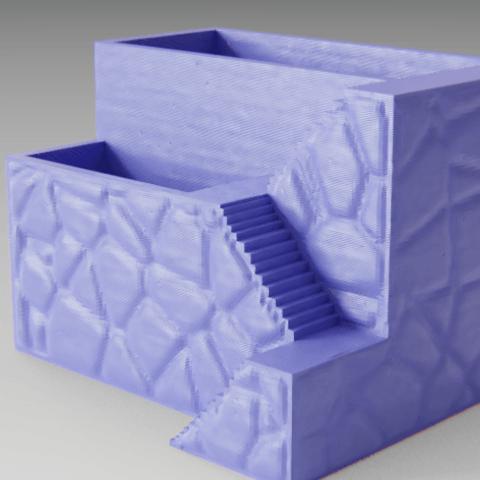 Descargar modelos 3D para imprimir Florero (con escalera), Vincent6m
