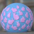 Free 3D printer model Bunny planter, Vincent6m