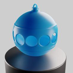 Fichier impression 3D gratuit Boule de Noël 'Classic', Vincent6m