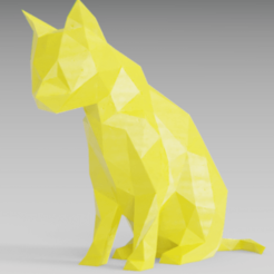Fichier STL Sad cat, Vincent6m