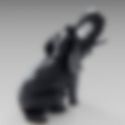 Descargar diseños 3D gratis Elefante de polietileno bajo, Vincent6m