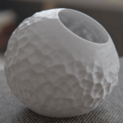 Download STL file Spherical planter, Vincent6m
