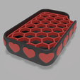 Download free 3D printing designs Heart soap dish , Vincent6m