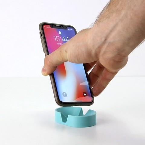 doriane-3.jpg Download free STL file phone holder - candice • 3D printable design, clem-c2