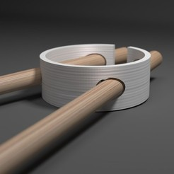Free 3d printer designs chopstick - Alizee, clem-c2