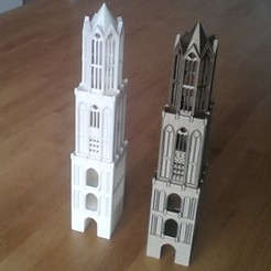 Download 3D printing designs Dom Tower - Utrecht, edge