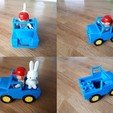 Free STL Duplo compatible cars collection, edge