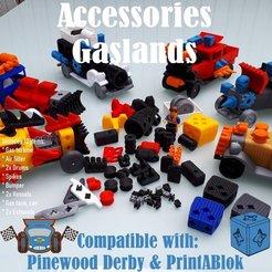 07.Accessories_Gaslands_00.jpg Download free STL file Gaslands Accessories PrintABlok • Object to 3D print, edge