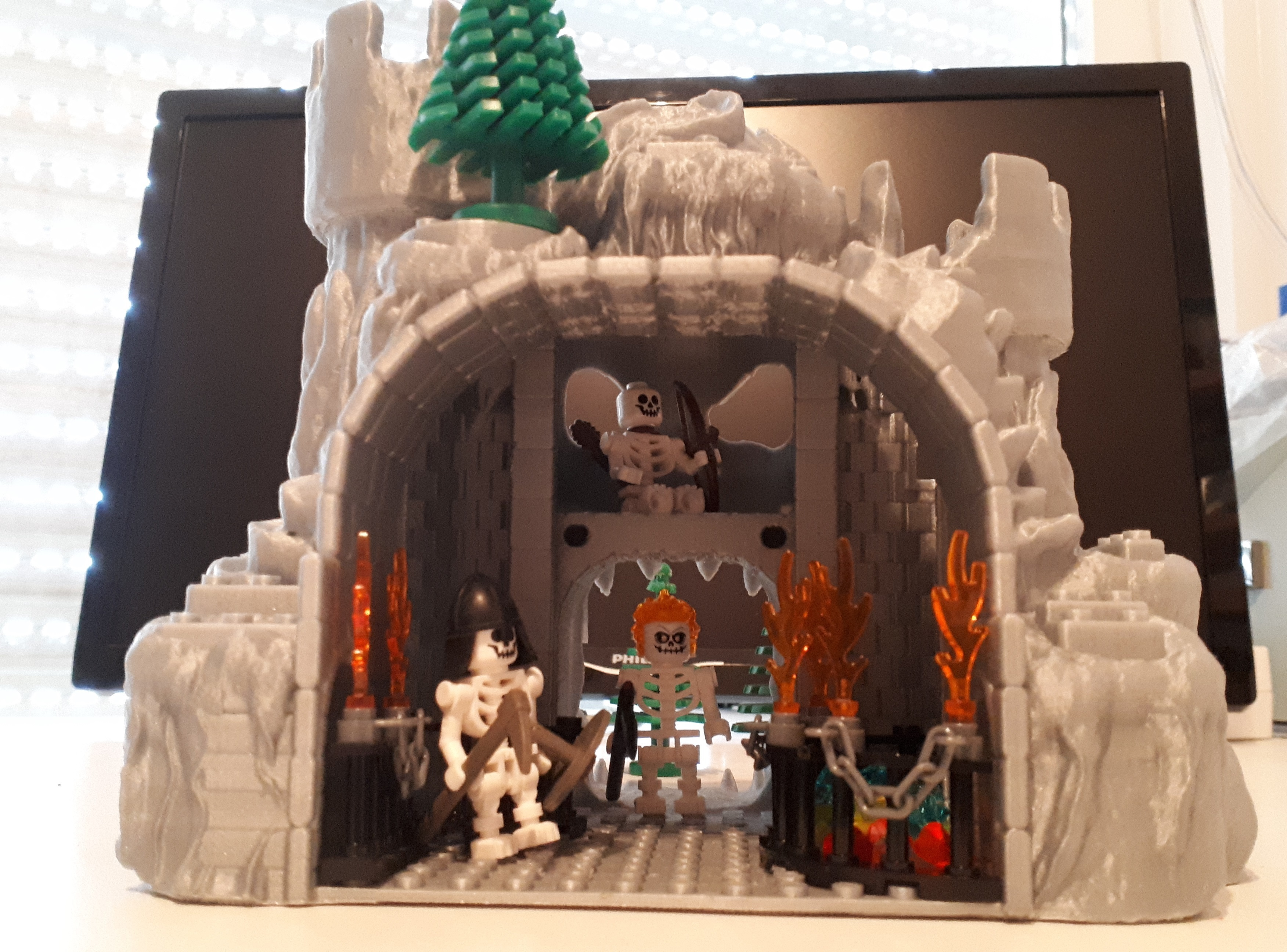 20190730_130417.jpg Download free STL file Gate to the Underworld (Lego compatible) • 3D printable model, edge