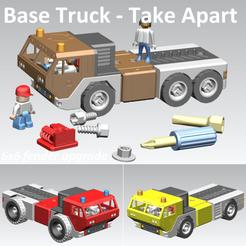 Télécharger modèle 3D gratuit Base Truck 6x6 upgrade - Take Apart (Reloaded), edge