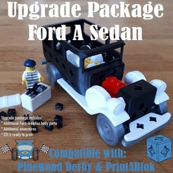 ford_a_upgrade_sedan.jpg Download STL file Ford-A sedan upgrade package • Model to 3D print, edge