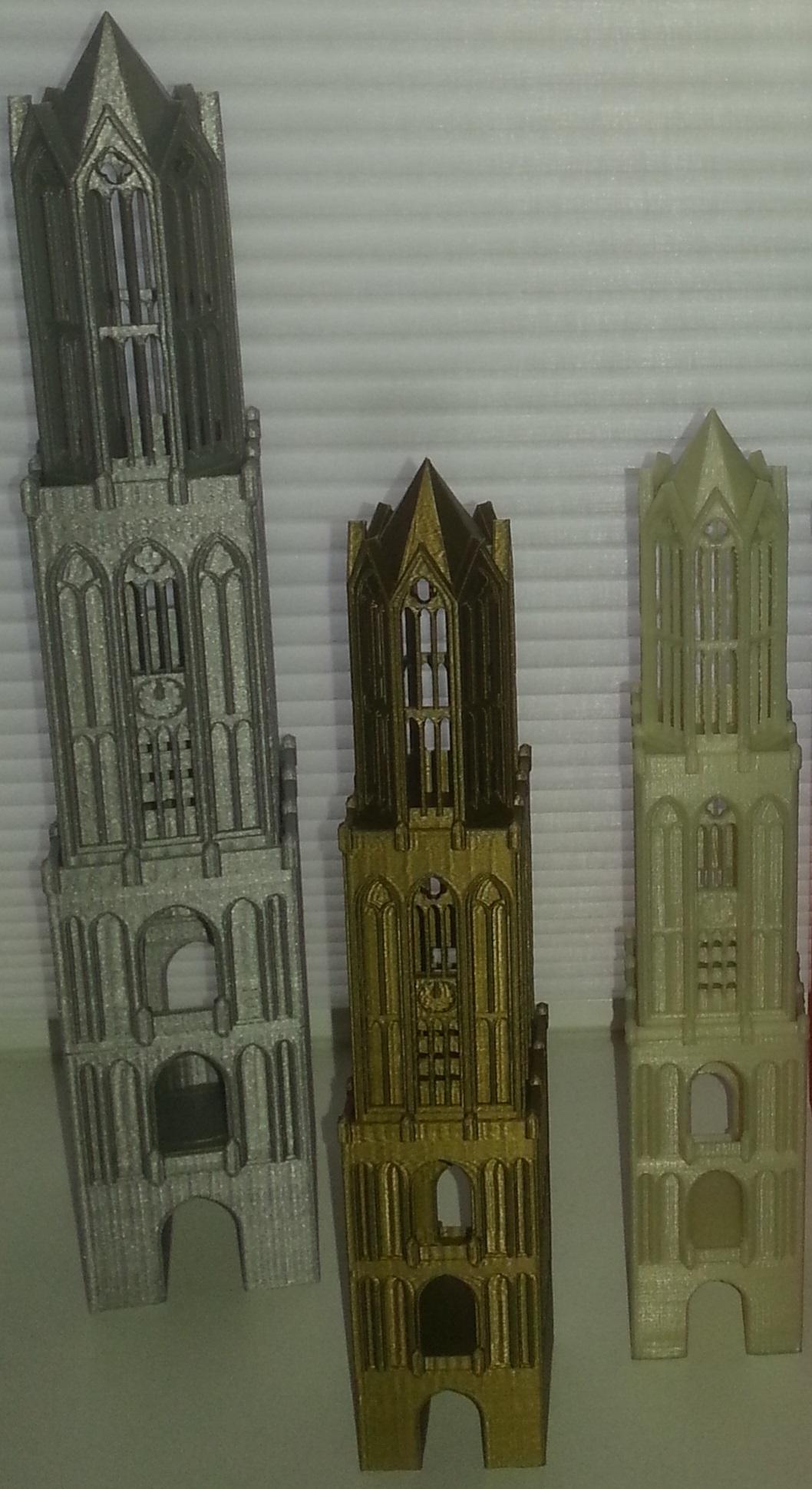 11.jpg Download STL file Dom Tower - Utrecht • 3D printable template, edge