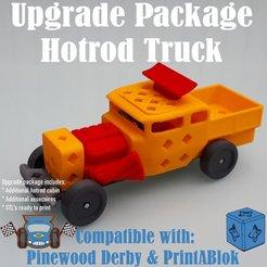 hotrod_upgrade_truck.jpg Télécharger fichier STL PAQUET DE MODERNISATION DU CAMION HOTROD • Design pour imprimante 3D, edge