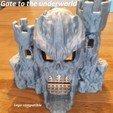 Download free STL Gate to the Underworld (Lego compatible), edge