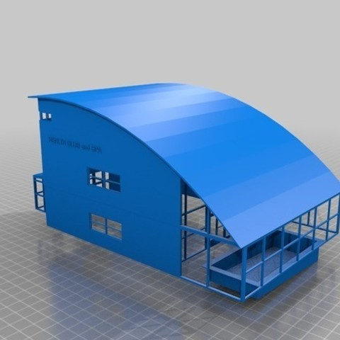 0d7831d776e857466ab4368485a817bb_preview_featured.jpg Download STL file HO Scale Health Club and Spa • 3D printer design, nzfreemo