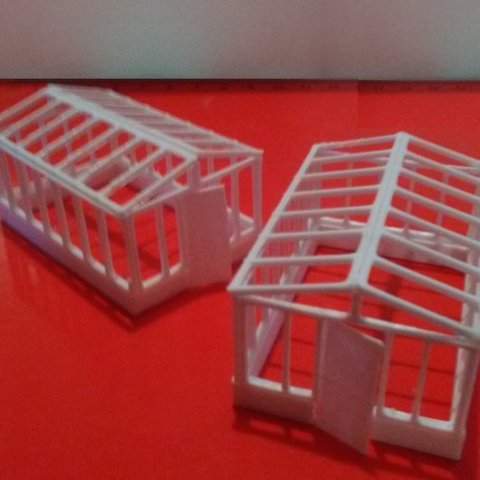 glasshouse.jpg Download STL file Glasshouse - HO scale • 3D printer design, nzfreemo