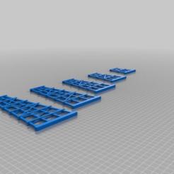 178ab787fca5c5af9cacf913319e3a96.png Download free STL file Bridge Bents (trestles) HO • 3D printer template, nzfreemo