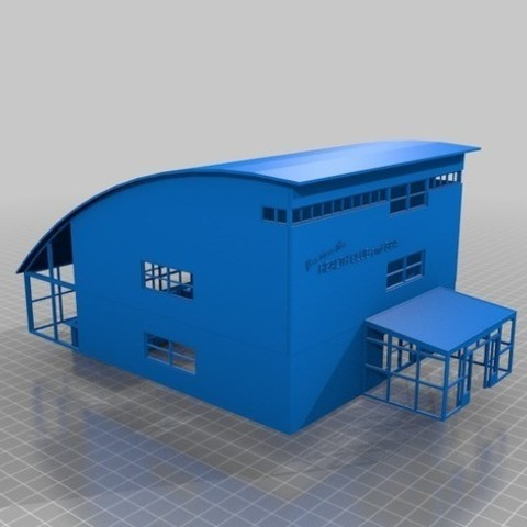 23aa92a170fbbf50d84f140c8c5b0185_preview_featured.jpg Download STL file HO Scale Health Club and Spa • 3D printer design, nzfreemo