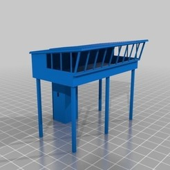 modelos 3d Torre de control de escala N, nzfreemo
