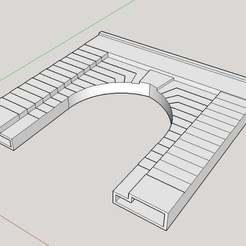 tunnelportal5.jpg Download free STL file HO scale tunnel portal - 5 • Design to 3D print, nzfreemo