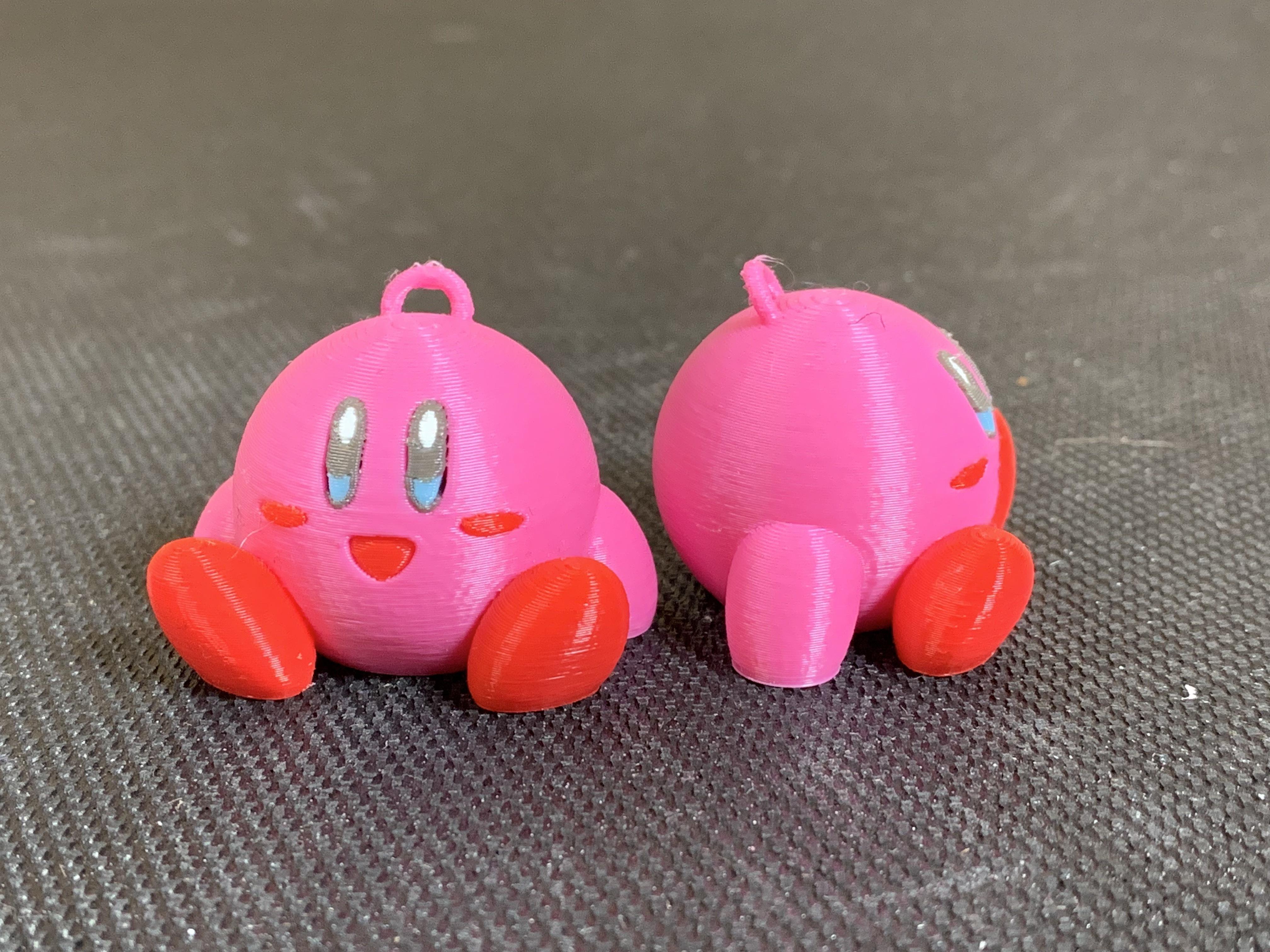 IMG_1517.JPG Télécharger fichier STL gratuit Kirby KeyChain MMU • Objet pour impression 3D, GreyBeard3D