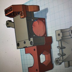 IMG_0519.jpg Download free STL file Mk2 to Mk3 Nozzle Fan Adapter • 3D print model, GreyBeard3D