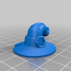 Download free 3D printer designs Hug Me Ghost with Witch Hat, GreyBeard3D