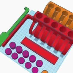 Descargar archivos STL gratis Bloqueo Demo v1 - Pin gigante recortado y bloqueo del tambor para la enseñanza de la selección de cerraduras., GreyBeard3D