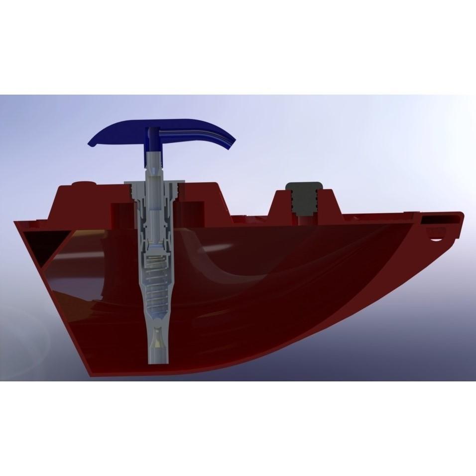a.JPG Télécharger fichier STL gratuit Bateau de bain avec distributeur de savon • Plan imprimable en 3D, jaazasja