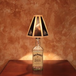 STL files JACK DANIELS's Honey lamp, jaazasja