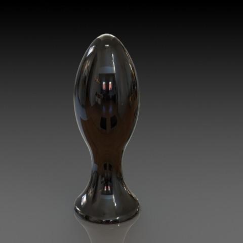 Download STL file Butt plug • 3D printing design, jaazasja