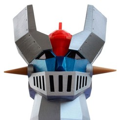 Télécharger STL Faible Poly Mazinger Z, madesigns
