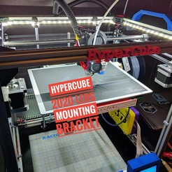 IMG_20170521_210706-01.jpeg Download free STL file Hypercube 2020 LED mounting brackets • 3D print model, Chaco
