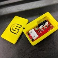 modelo stl gratis Caja del sensor de filamento e información de configuración/ajustes, Chaco