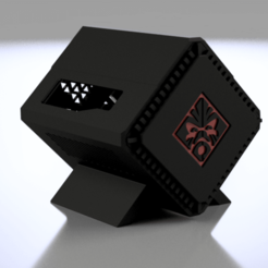 Pi4_Omen_1.png Download free STL file Raspberry Pi 4 OMEN Accelerator Case • Object to 3D print, Chaco