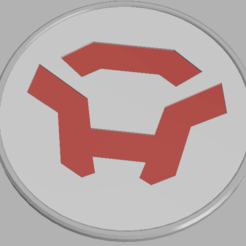 colossus.png Download STL file Anthem Colossus Coaster • Design to 3D print, Chaco