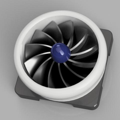 Jet Turbine Rotation Indicator