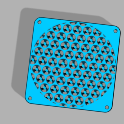 120mm_mc_grill.png Download STL file 120mm Mc_Grill • Template to 3D print, Chaco