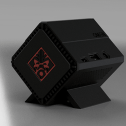 Pi3_Omen_1.png Download free STL file Raspberry Pi 3 OMEN Accelerator Case v2 • 3D printable object, Chaco