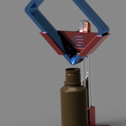 Photon_VAT_Drain_Stand.png Download free STL file Anycubic Photon VAT Drip Stand • Template to 3D print, Chaco