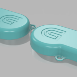 Download free 3D printing designs PSU Fan Shroud Silencer, Chaco