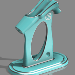 Download free 3D printing files Master Airbrush Stand for G23 & G233, Chaco