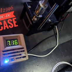 Download free 3D printing models LM2596 DC-DC with Digital Volmeter Case, Chaco