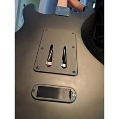 Descargar archivo 3D gratis Tapa de la batería Squier Stratocaster, Chaco
