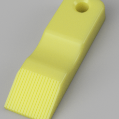 Imprimir en 3D gratis Peine de aletas del radiador - Paramétrico, Chaco