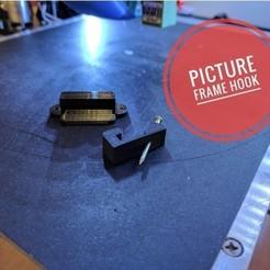 hook1.jpeg Télécharger fichier STL gratuit Crochet pour cadre photo • Design à imprimer en 3D, Chaco
