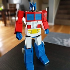Download 3D printing files Low Poly Optimus Prime, Chaco