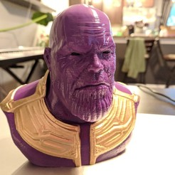 Free 3D file Thanos (Avengers: Infinity War), Chaco