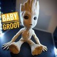 Free stl Baby Groot, Chaco